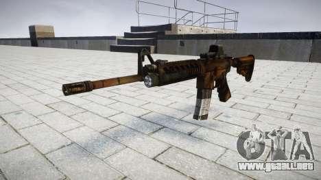 Tácticas de asalto M4 rifle de destino para GTA 4