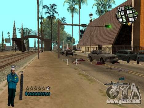 FBI HUD para GTA San Andreas tercera pantalla