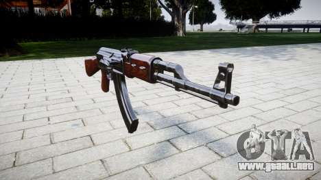El AK-47 Stock para GTA 4
