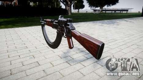 El AK-47 Colimador y destino HICAP para GTA 4 segundos de pantalla
