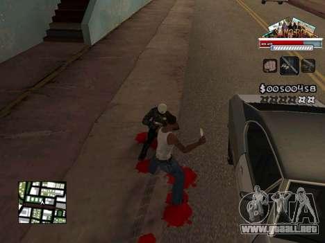CLEO HUD for SA:MP - RP para GTA San Andreas sucesivamente de pantalla