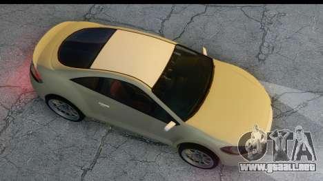 GTA 5 Maibatsu Penumbra para GTA San Andreas vista posterior izquierda