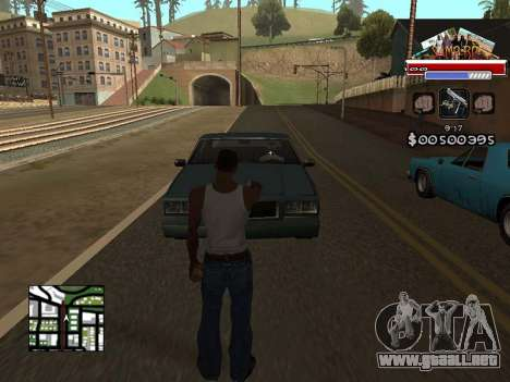 CLEO HUD for SA:MP - RP para GTA San Andreas segunda pantalla