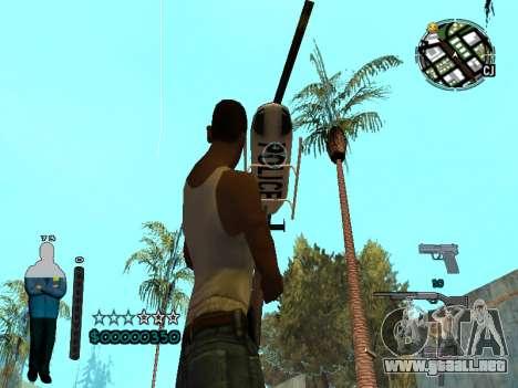 FBI HUD para GTA San Andreas quinta pantalla