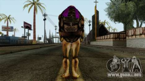 No (Las Tortugas Ninja) para GTA San Andreas segunda pantalla