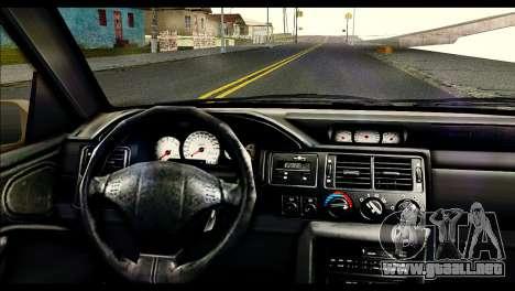 Ford Escort RS Cosworth [HQLM] para GTA San Andreas vista posterior izquierda