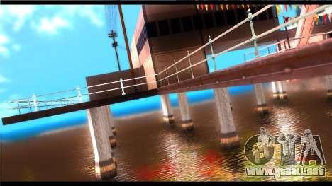 Forza Plata ENB Series para PC de bajos para GTA San Andreas quinta pantalla