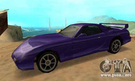 Beta ZR-350 para GTA San Andreas