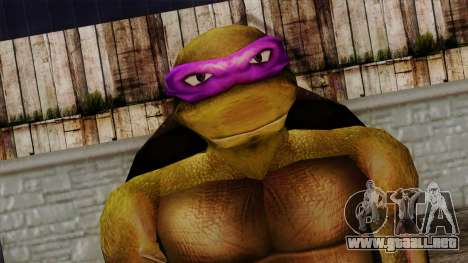 No (Las Tortugas Ninja) para GTA San Andreas tercera pantalla