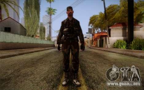Soldier Skin 3 para GTA San Andreas