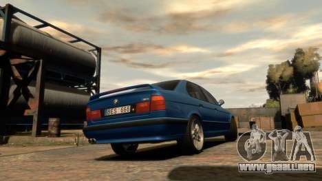 BMW M5 E34 1995 para GTA 4 left