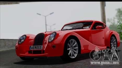 Morgan AeroSS 2013 v1.0 para GTA San Andreas