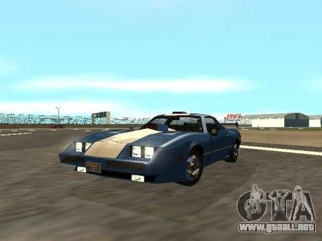 New Phoenix para GTA San Andreas vista hacia atrás