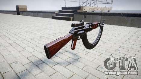 El AK-47 Colimador y HICAP para GTA 4 segundos de pantalla