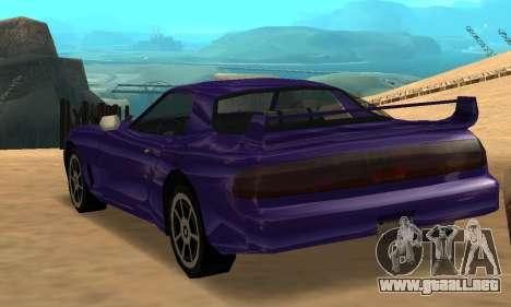 Beta ZR-350 para GTA San Andreas left