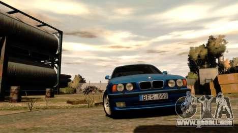 BMW M5 E34 1995 para GTA 4 vista interior