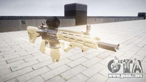 Rifle AR-15 CQB destino aimpoint para GTA 4