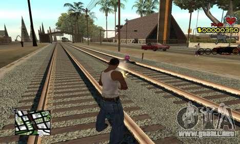 C-HUD By Fernando para GTA San Andreas