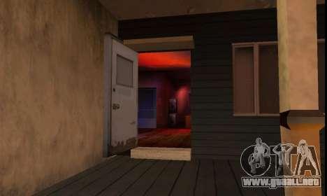 New OG Lock House para GTA San Andreas segunda pantalla