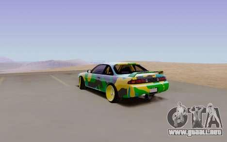 Nissan Silvia S14 Hunter para GTA San Andreas left