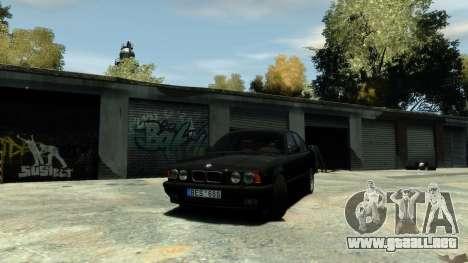 BMW M5 E34 1995 para GTA 4 visión correcta