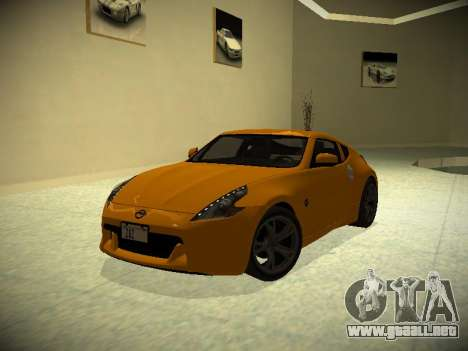 Nissan 370 Z Z34 2010 Ajustables para GTA San Andreas