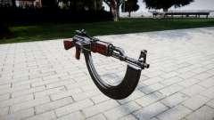 El AK-47 Colimador y HICAP para GTA 4