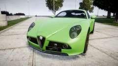Alfa Romeo 8C Competizione 2008