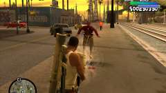 С-HUD Metro para GTA San Andreas
