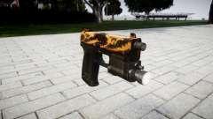 La pistola HK USP 45 tigre