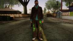 Aiden Pearce from Watch Dogs v3 para GTA San Andreas