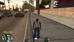 C-HUD Police para GTA San Andreas