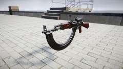 El AK-47 Colimador y destino HICAP