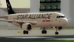 Airbus A320-200 Air India (Star Alliance Livery) para GTA San Andreas