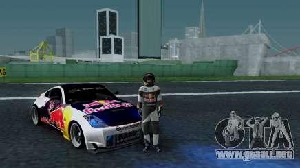 Nissan 350Z Red Bull para GTA San Andreas