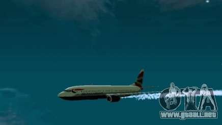 Boeing 737-800 British Airways para GTA San Andreas