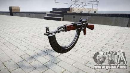El AK-47 Colimador y destino HICAP para GTA 4