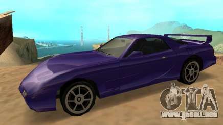 Beta ZR-350 para GTA San Andreas