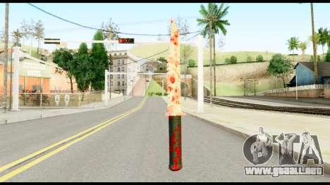 Knife with Blood para GTA San Andreas segunda pantalla
