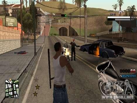 Simple C-HUD para GTA San Andreas segunda pantalla