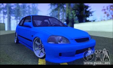 Honda Civic HB (BLG) para GTA San Andreas
