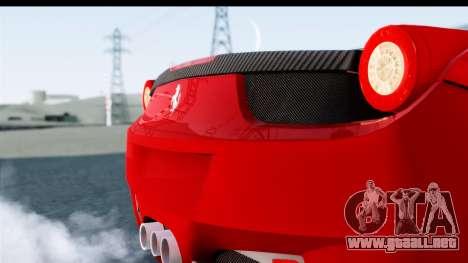 Ferrari 458 Italia Stanced para la visión correcta GTA San Andreas