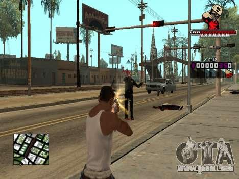 C-HUD SWAG para GTA San Andreas sucesivamente de pantalla