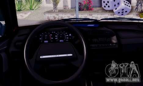 Lada 2109 para GTA San Andreas vista posterior izquierda