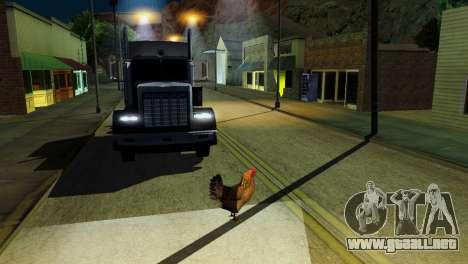 La posibilidad de GTA V para jugar para los anim para GTA San Andreas twelth pantalla