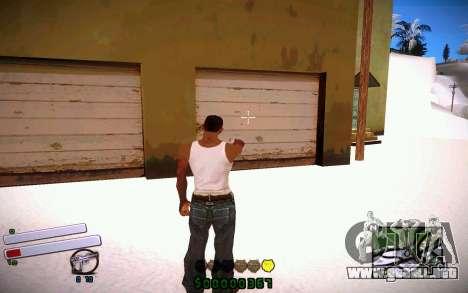 C-HUD v4.0 para GTA San Andreas