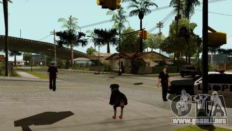La posibilidad de GTA V para jugar para los anim para GTA San Andreas