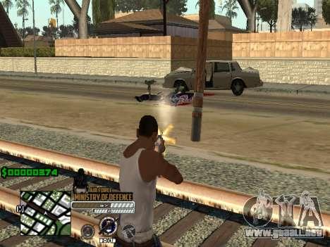 C-HUD Air Force para GTA San Andreas