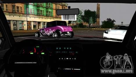 Lada 21099 Rat Look para GTA San Andreas vista posterior izquierda