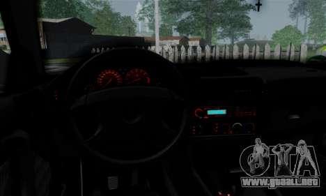 BMW 525 E34 Rims para visión interna GTA San Andreas